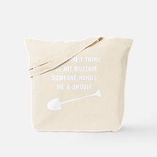 Bottom Shovel Tote Bag