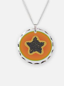 Papaya Star Necklace