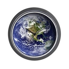 earthWesternFull Wall Clock