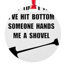Bottom Shovel Ornament