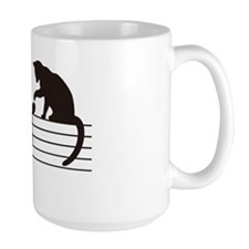 A Cat Toying with Notes Mug