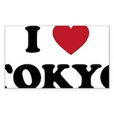 I Love Tokyo Decal
