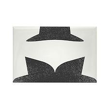 Secret Agent Spry Spy Guy Rectangle Magnet
