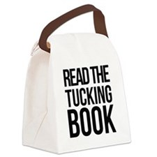 Read the tucking book Canvas Lunch Bag