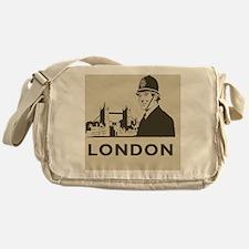 Retro London Messenger Bag