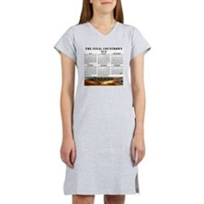 THE END Women's Nightshirt