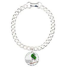 MHCA Logo Charm Bracelet, One Charm