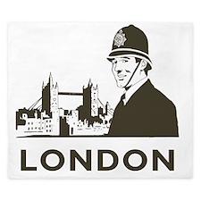 Retro London King Duvet