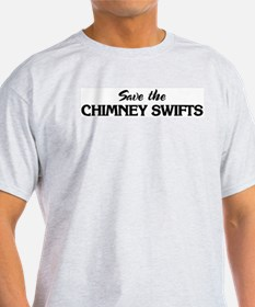 Save the CHIMNEY SWIFTS T-Shirt