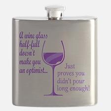 Wine Optimist NOT Flask