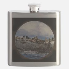 sea lions Flask