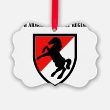 SSI - 11th Armored Cavalry Regime Ornament