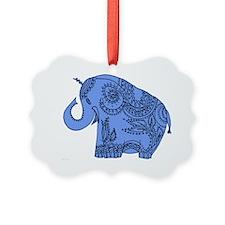 bobbie blue Ornament