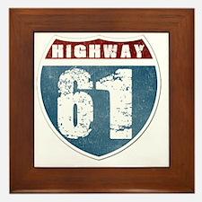 Highway 61 Framed Tile