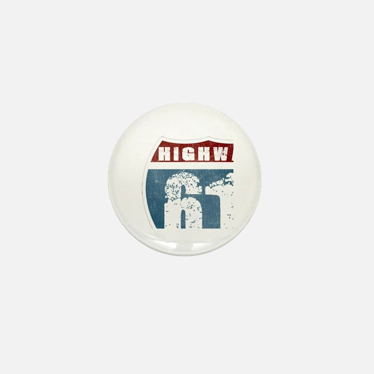 Highway 61 Mini Button