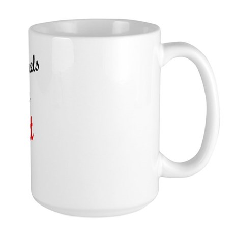 In Love with Benedict Large Mug