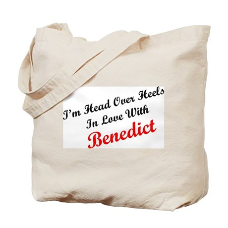 In Love with Benedict Tote Bag