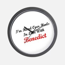 In Love with Benedict Wall Clock
