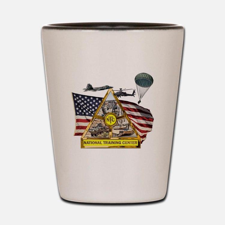 Fort Irwin Shot Glass