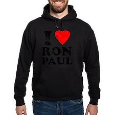 I Heart Ron Paul Hoodie