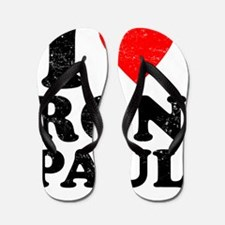 I Heart Ron Paul Flip Flops