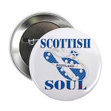 """Scotland Football Soul Design 2.25"""" Button"""