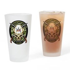 Tribal Fighting Arts Drinking Glass