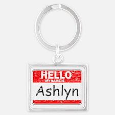 Hello my name is Ashlyn Landscape Keychain