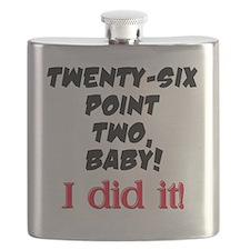 Twenty-six point two Flask