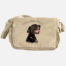 Mans Best Friend Messenger Bag