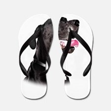Mans Best Friend Flip Flops