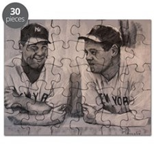 Babe Ruth  Lou Gherig Puzzle