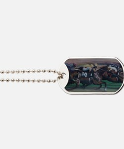The Horse Race Dog Tags
