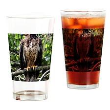 American Bald Eagle 9 x 12 Drinking Glass