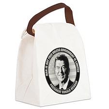 President Ronald Reagan Canvas Lunch Bag