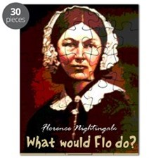 What Would Flo Do Nurse Shoulder Bag Puzzle