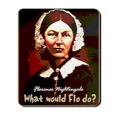 What Would Flo Do Nurse Shoulder Bag Mousepad