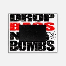 Drop Bass Not Bombs Picture Frame
