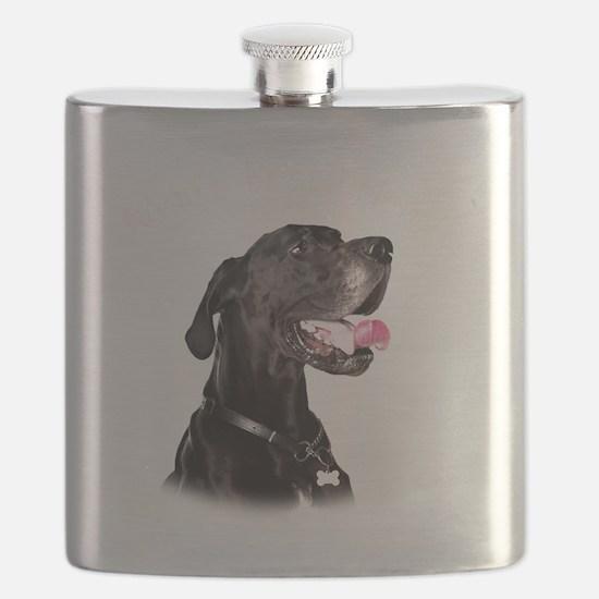Mans Best Friend Flask