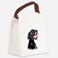 Mans Best Friend Canvas Lunch Bag