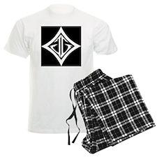 JG Diamond Black Pajamas