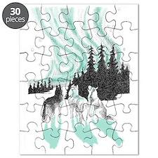 Siberian aurora Puzzle