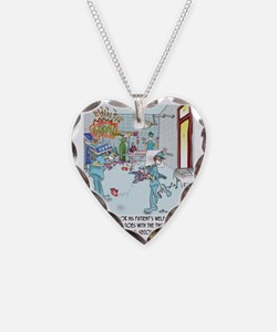 Two-Second Rule in the OR Necklace Heart Charm