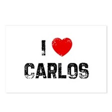 I * Carlos Postcards (Package of 8)