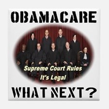 Obamacare What Next? Tile Coaster