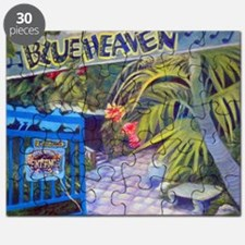 Blue Heaven New View framed print Puzzle