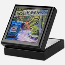 Blue Heaven New View framed print Keepsake Box