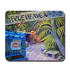 Blue Heaven New View framed print Mousepad
