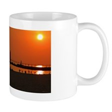 Sunset at Grand Haven Mug