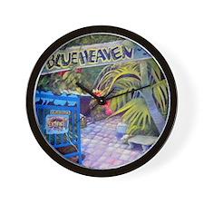 Blue Heaven New View framed print Wall Clock